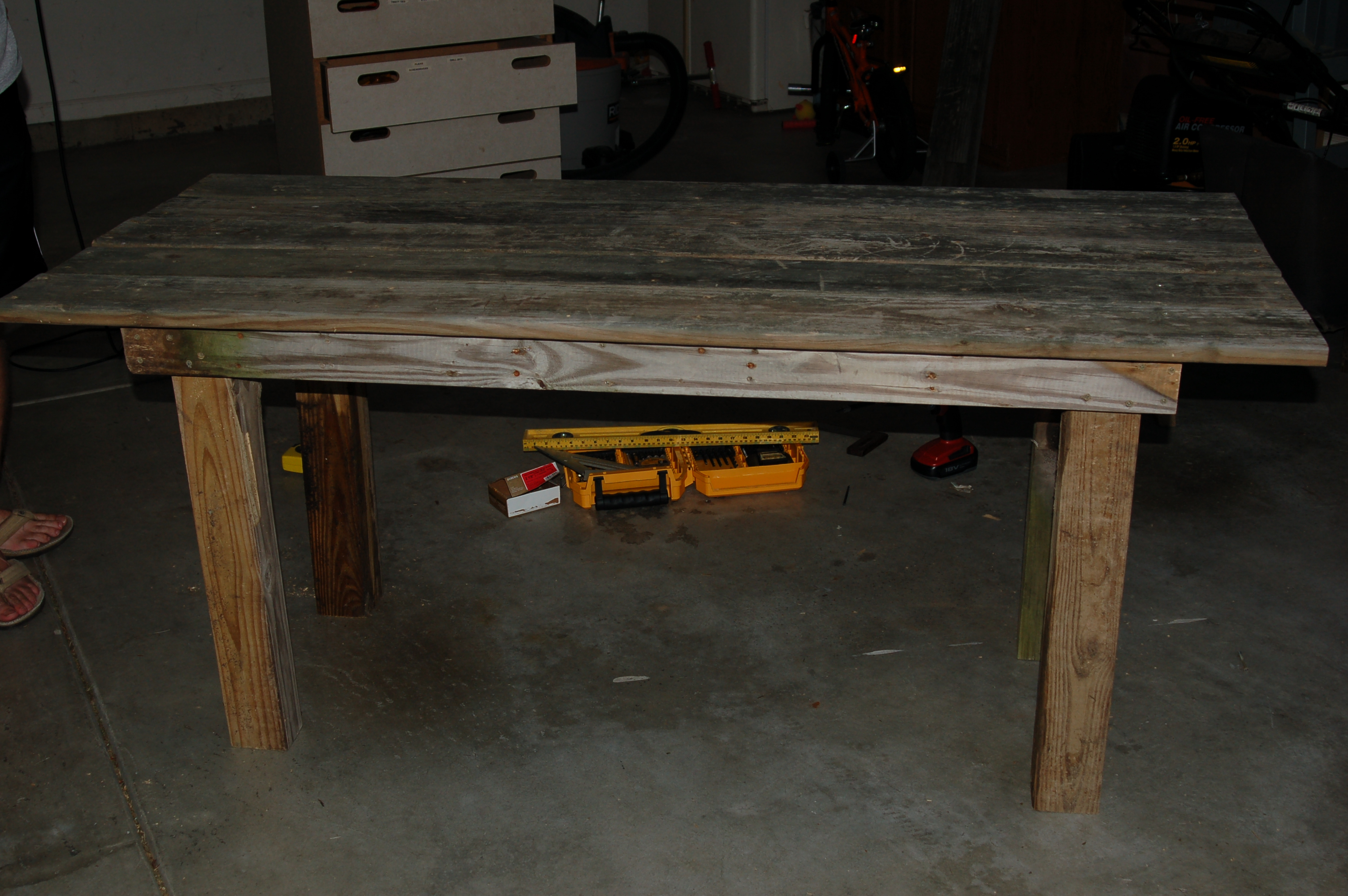 how to build a rustic outdoor dining table guest remodel