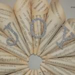 JOY Sheet Music Wreath