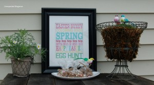 Easter Party for under $30: Part 2 and Link Party
