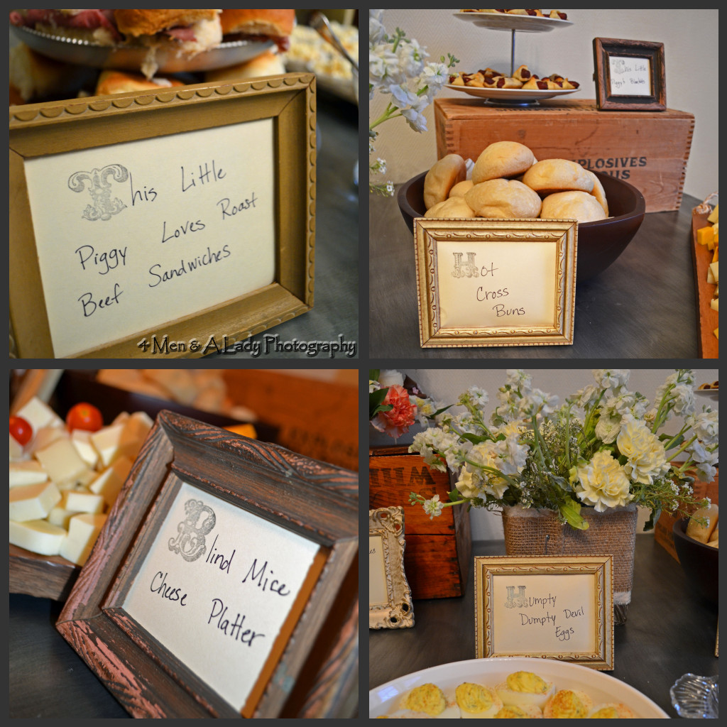 Baby Shower Buffet Menu: Ideas For How To Host A Nursery Rhyme Themed Baby Shower