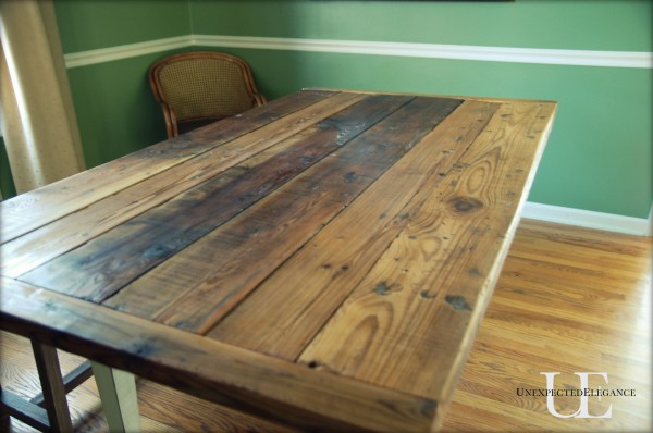 How To Build A Barn Wood Table Top