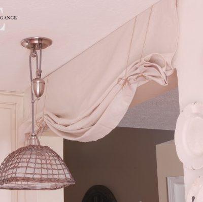 diy no sew balloon curtain