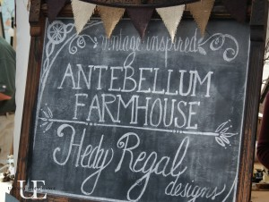 Antebellum Farmhouse sign