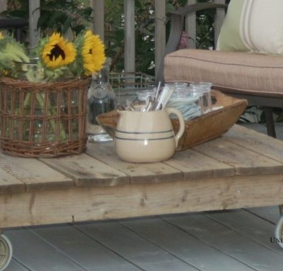 Recyled Outdoor Cofee Table