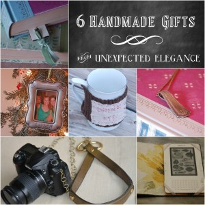 6 Handmade Gift Tutorials from Unexpected Elegance