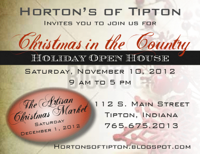Christmas Open House and Advertising