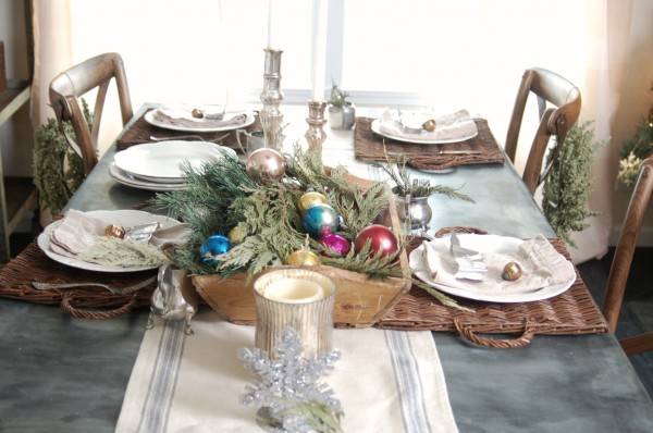 Christmas table 2012 from Unexpected Elegance