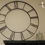 DIY Pottery Barn Inspired Clock Face