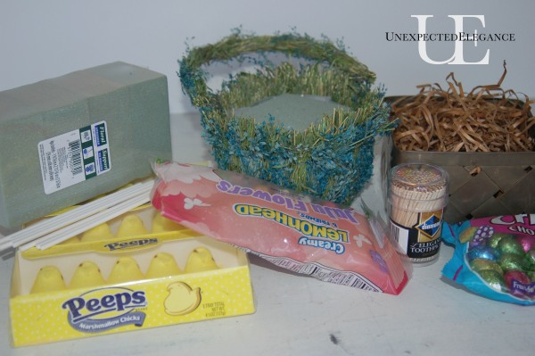 Peep Basket Supplies