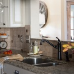 Mini Kitchen Makeover via Unexpected Elegance