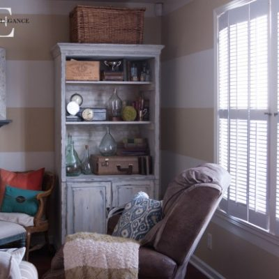 Do-It-Myself, Re-purposed Shutter for Pennies