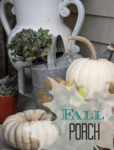 Fall Porch Inspiration at Unexpected Elegance