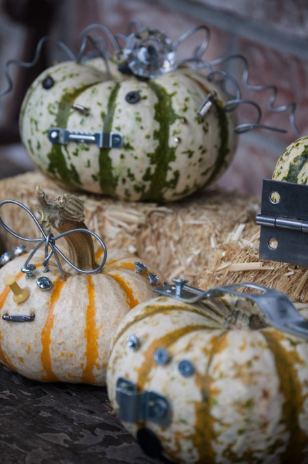 Industrial Halloween Pumpkin Craft at Unexpected Elegance (1 of 1)-5
