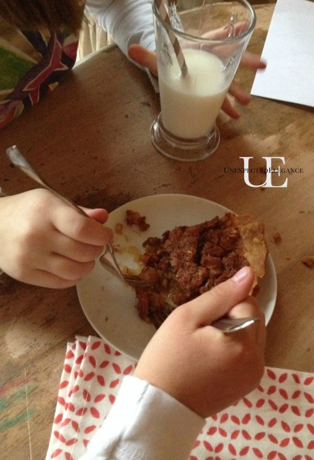 Yummy Pecan Pie from Unexpected Elegance
