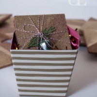 Handmade Gift- Coasters using Frog Tape
