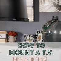 How to Hang a TV and Not See the Cords