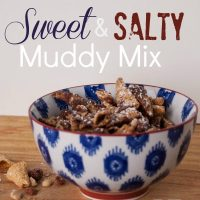 Sweet and Salty Muddy Mix - Dollar Store Challenge
