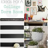 8 Ideas for a College Dorm Room
