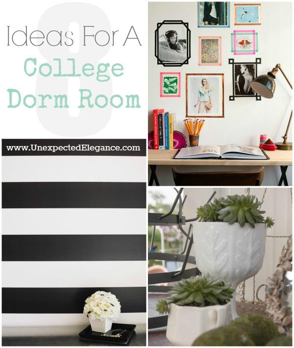 8 Ideas For A College Dorm Room Bmoscavengerhunt