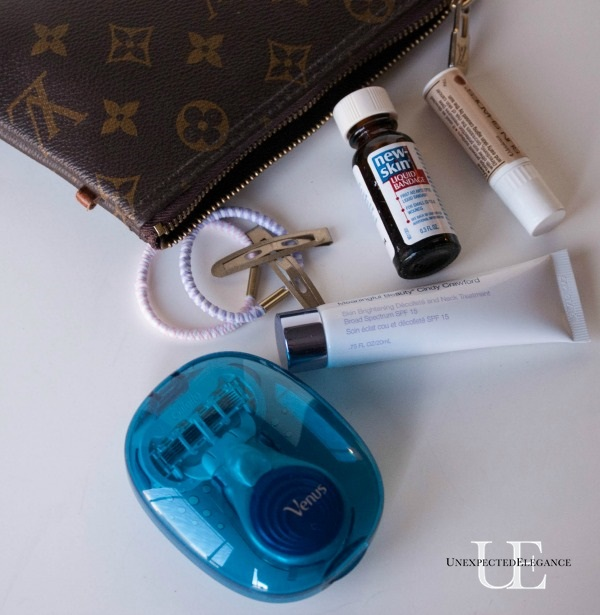 Sandal Weather Survival Kit for your Purse  #SnapAtTarget #spon