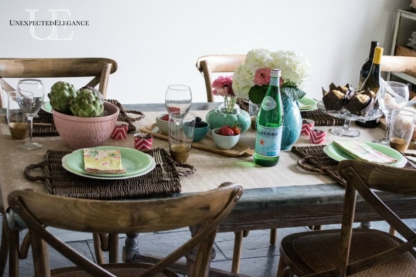 Spring Dining Room Tablescape-1-11
