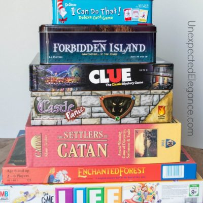 Family Games :  Perfect for the ENTIRE Family