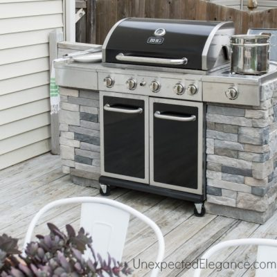 DIY Grill Station using ProBond Advanced