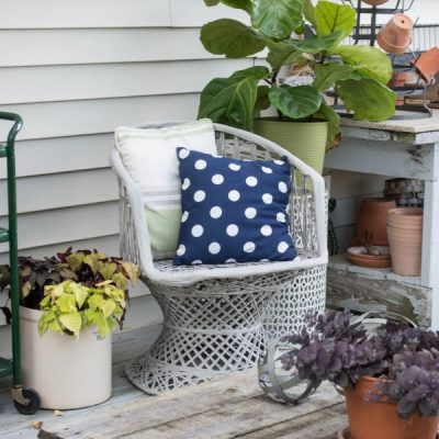 5 Tips to Update Your Outdoor Space |  Using Things You Might Already Have