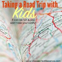 taking a road trip with kids