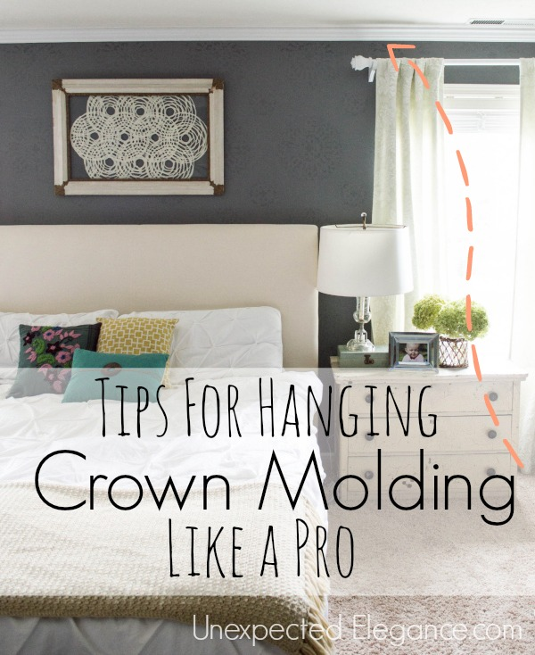 Crown Molding In Bedroom: Tips For Hanging Crown Molding Like A Pro