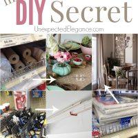 My DIY Secret revealed!!