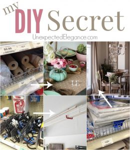 My DIY Secret revealed!!