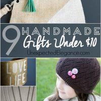 {9} Handmade gifts under $10 dollars