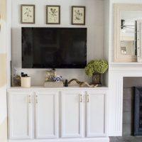 DIY Fireplace Buit-ins-1-22
