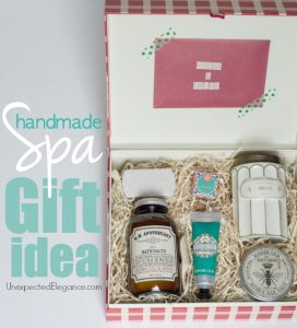 Handmade Spa Gift Idea