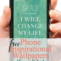 4 Phone Wallpapers with Inspirational Quotes
