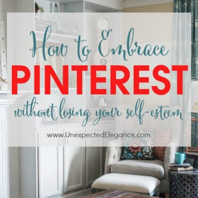 Cause We Are Living in a Pinterest World…