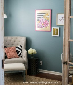 Budget Friendly Office Makeover