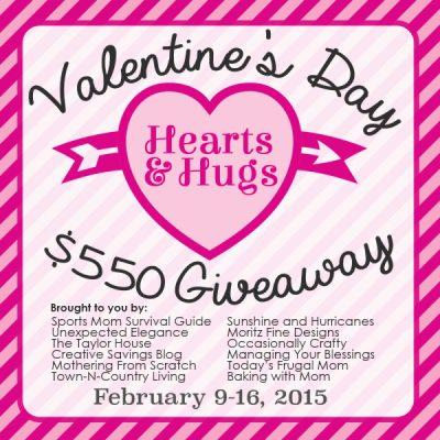 Valentine's $550 Giveaway
