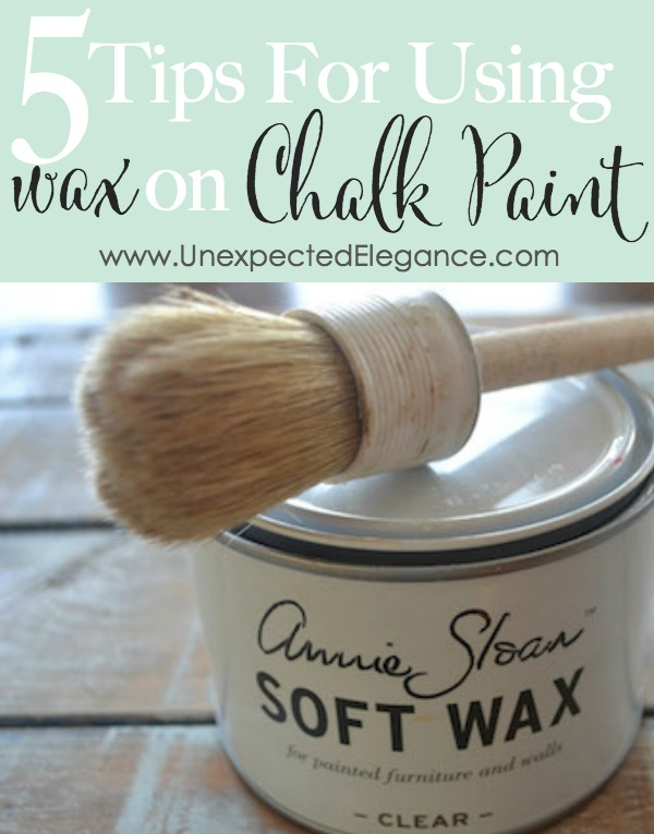 Do You Need A Wax Brush For Chalk Paint