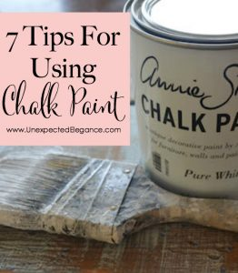 7 Tips for using Chalk Paint