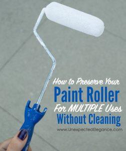 Paint Roller Trick-