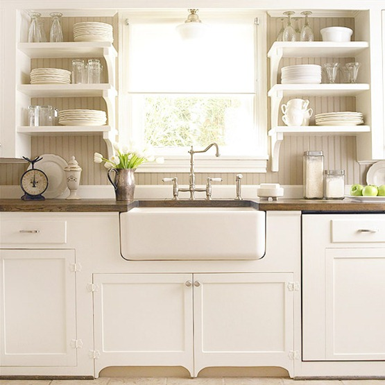 7 Ideas For A Farmhouse Inspired Kitchen {on A BUDGET
