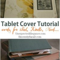 Tablet-Cover-Tutorial Video