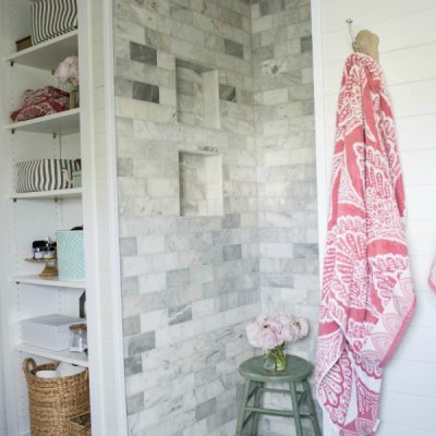 DIY Shower Renovation {Using an AMAZING System}