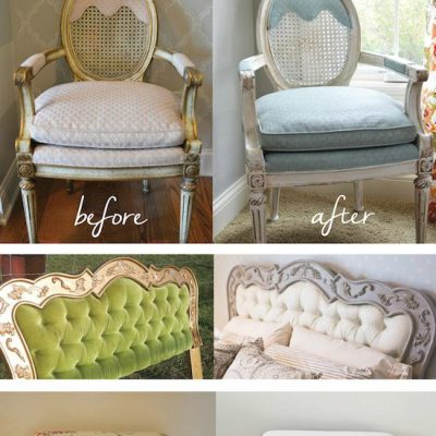 Painting Fabric with Chalk Paint {video tutorial}