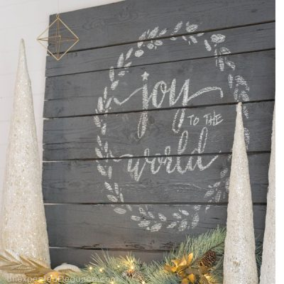 How to Transform Your Mantel for Christmas
