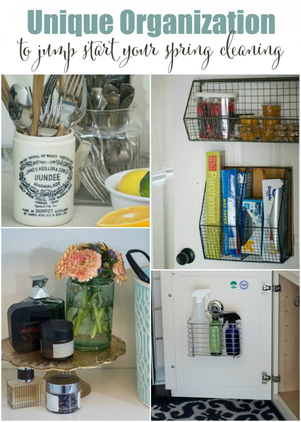 Unique Organization to Jump Start your Spring cleaning