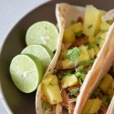 Pineapple Pork & Chicken Tacos