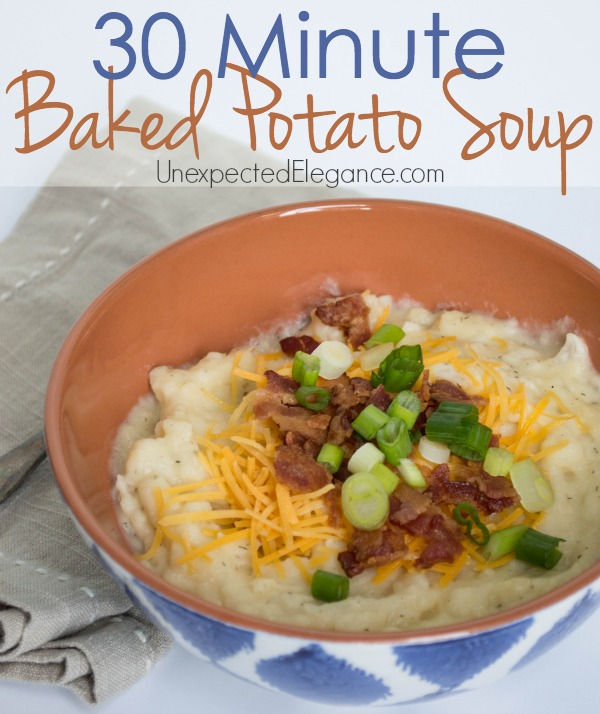 30 Minute Potato Soup-1